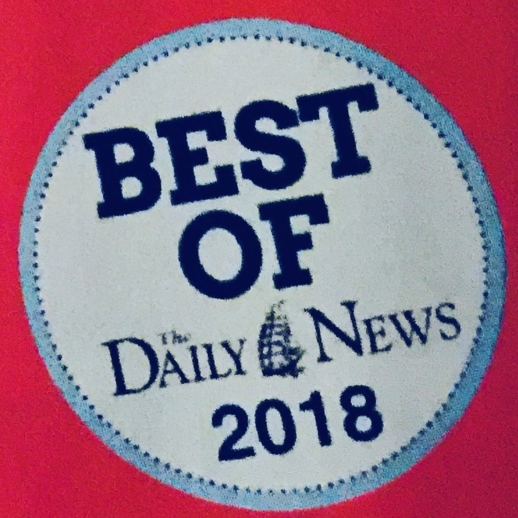 2nd year in a Row!- WOW! Thank you to everyone that voted us your Best Interior Designer 2018