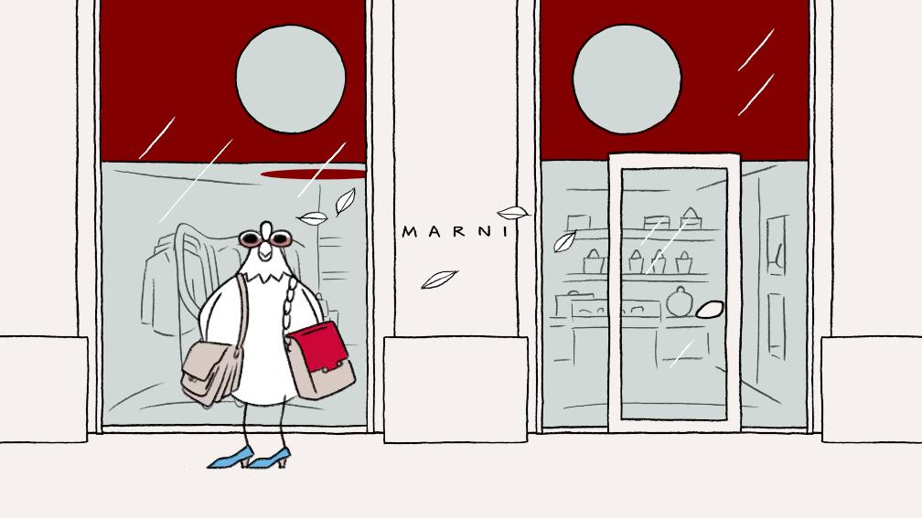 MARNI  Animated Artwork by Matt Blease