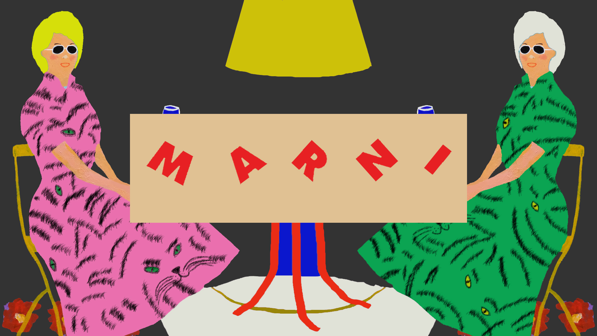 MARNI  Animated Paint by Alan Fears