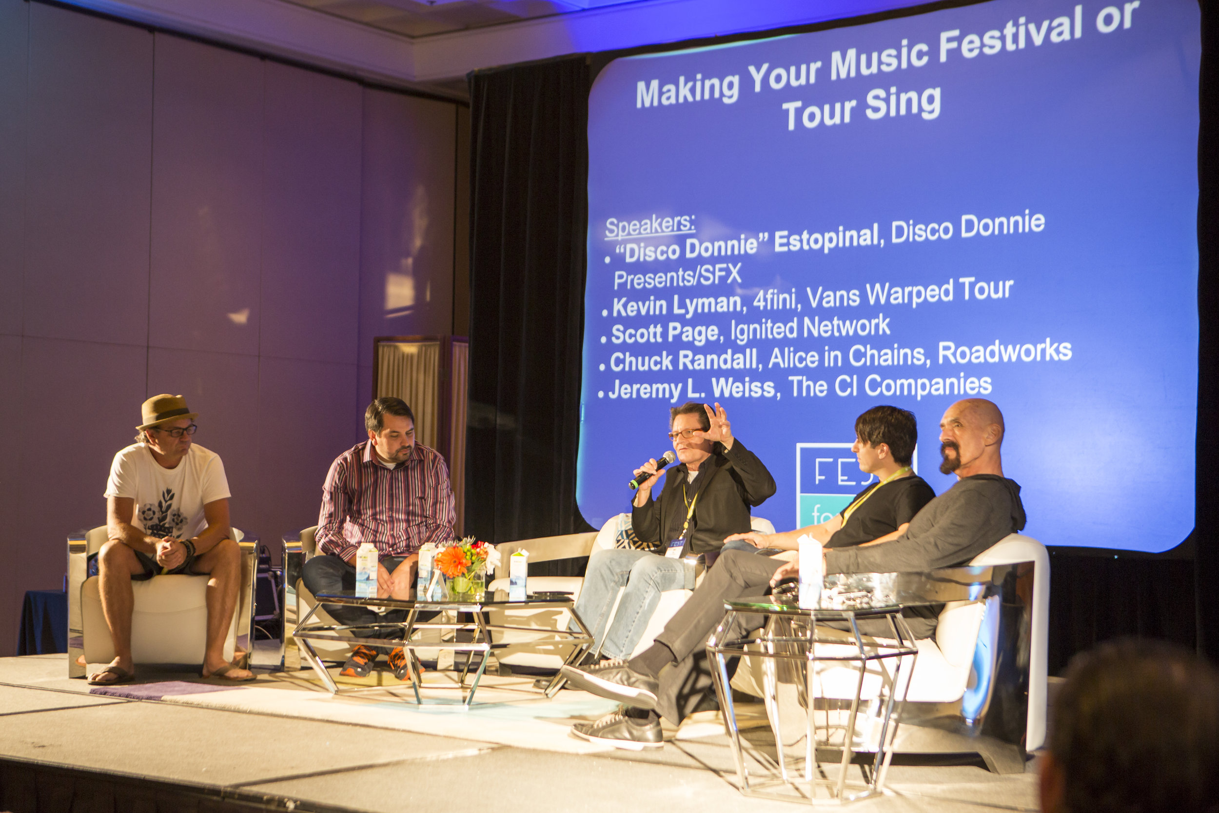 Making Your Festival or Tour Sing Panel