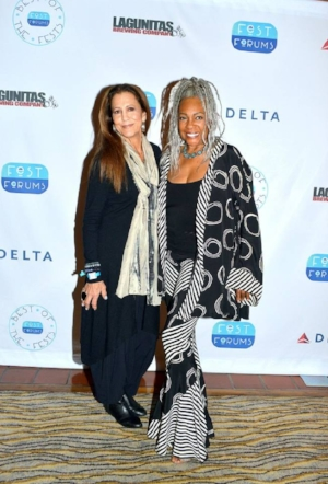 Rita Coolidge (left)- Music  Presented by Mary Wilson (right)