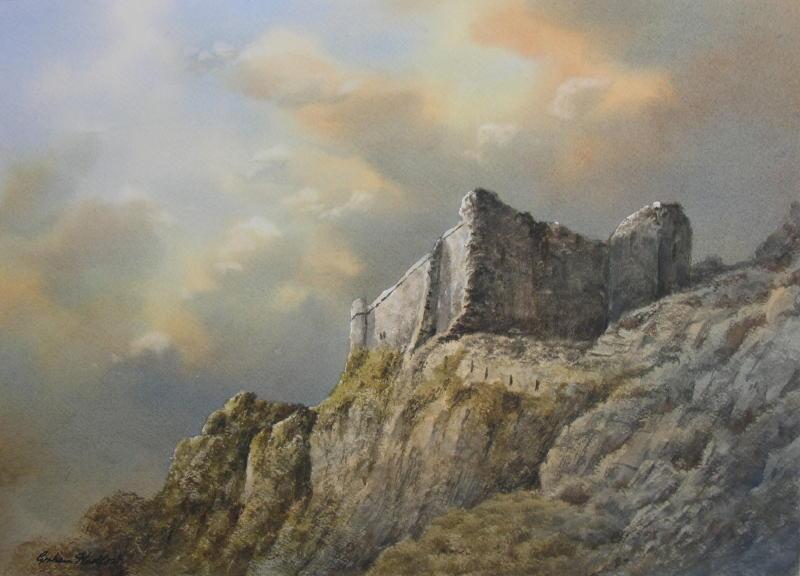 Evening Light, Carreg Cennan Castle