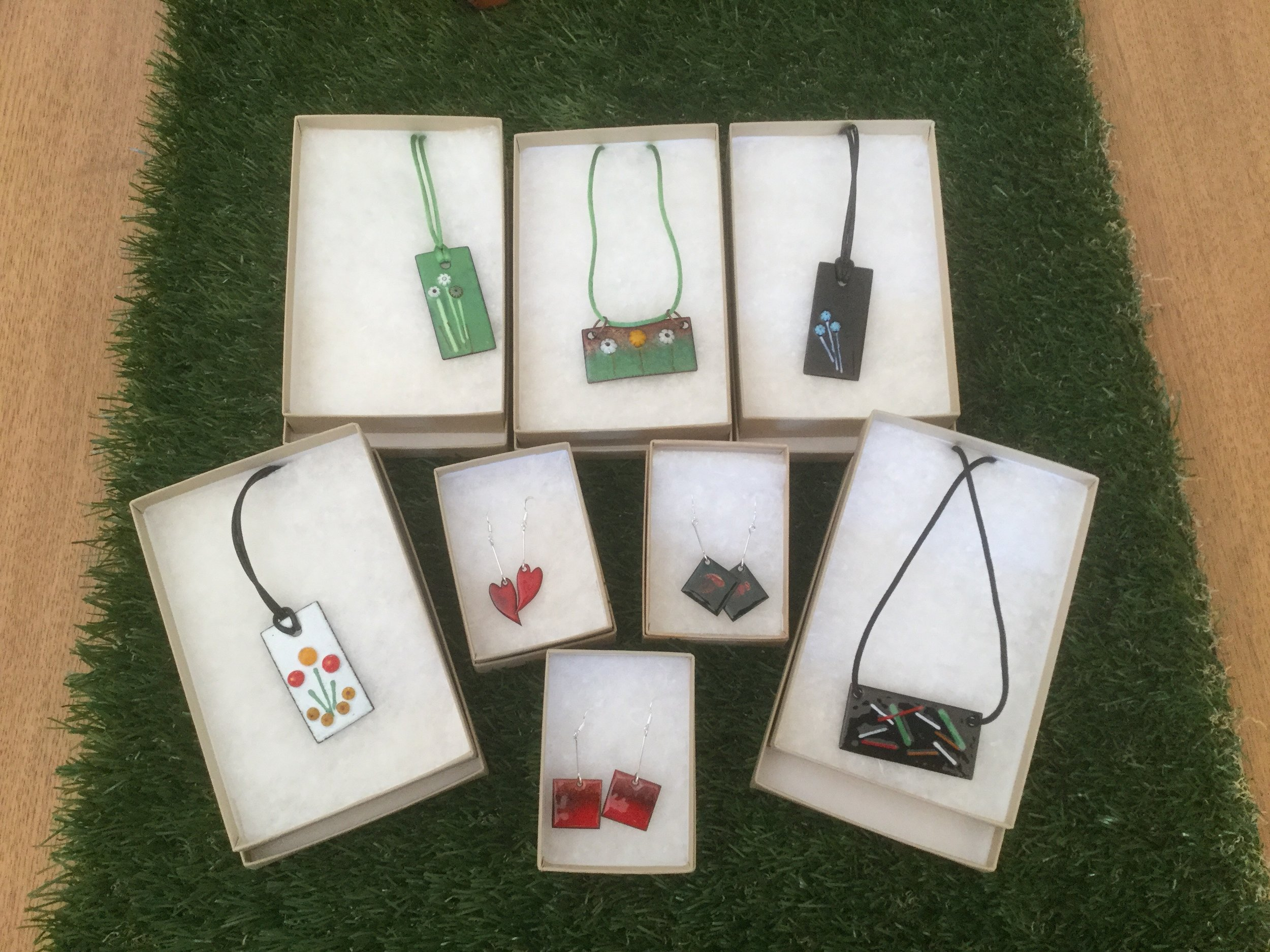 New enamel creations now available