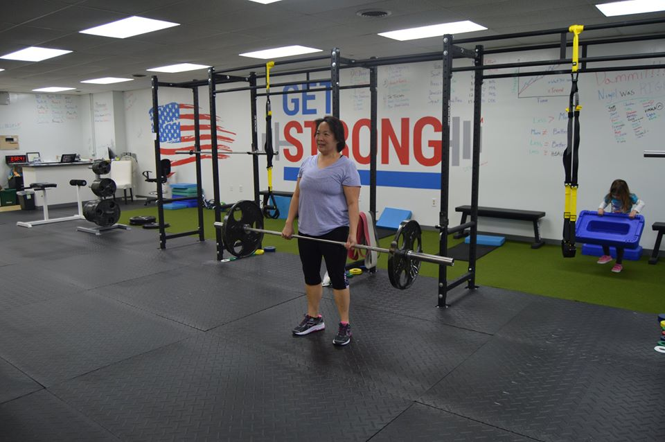 Jessie  I would like to thank Nigel for taking me to the next level of exercising and lifting weights. I would never have thought I could have done this type of strength training. Since training with Nigel, I feel more confident in myself and feeling STRONGER!!!