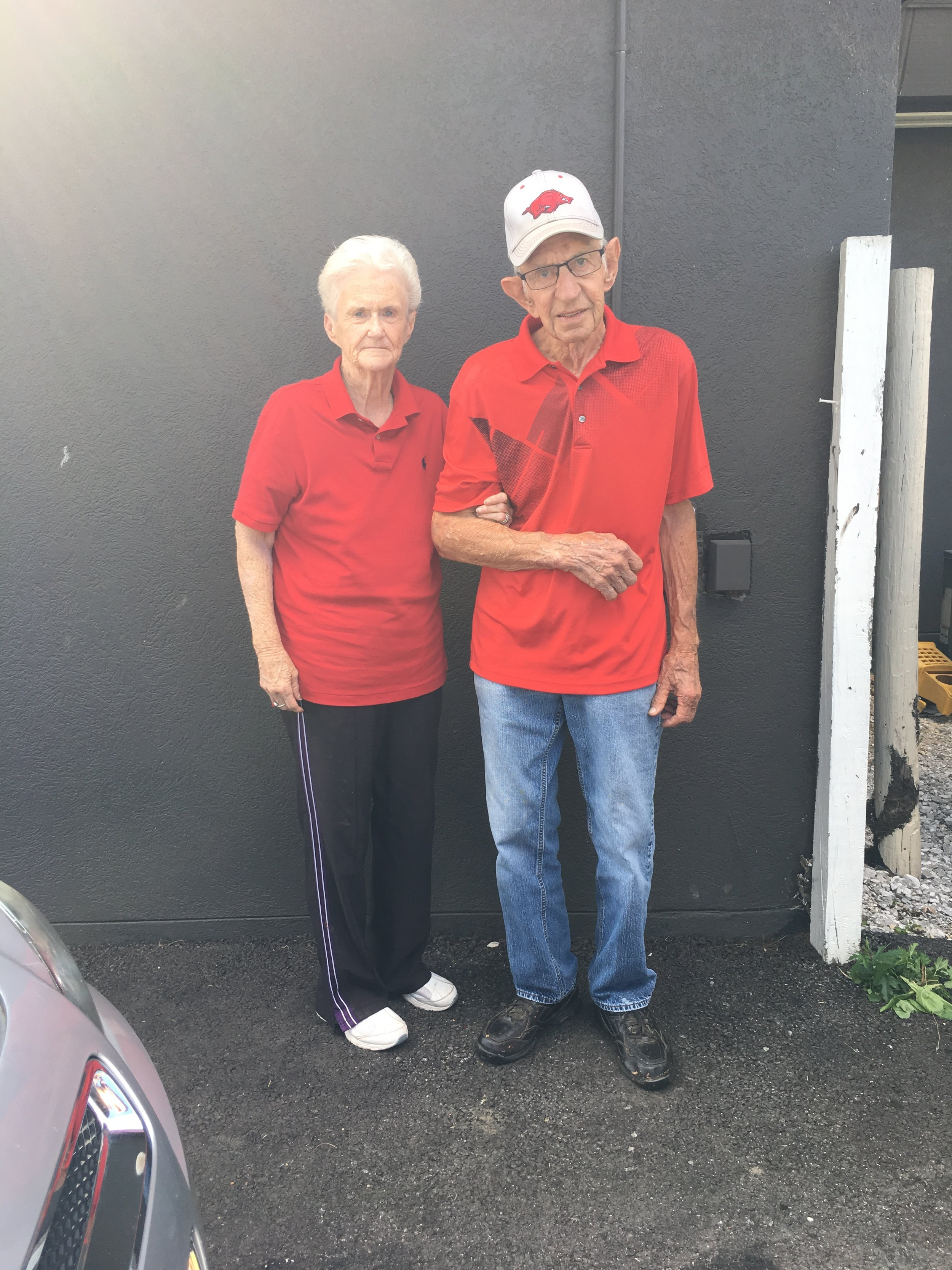 Second generation owner J.L. Patrick and his wife, Wilma Patrick