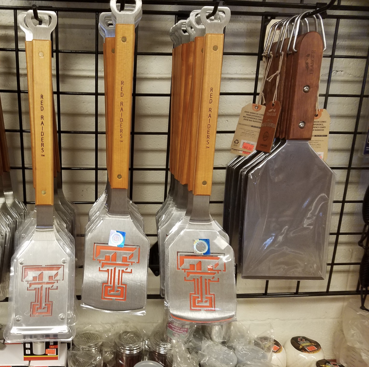 (Spatulas from The Outdoor Chef)