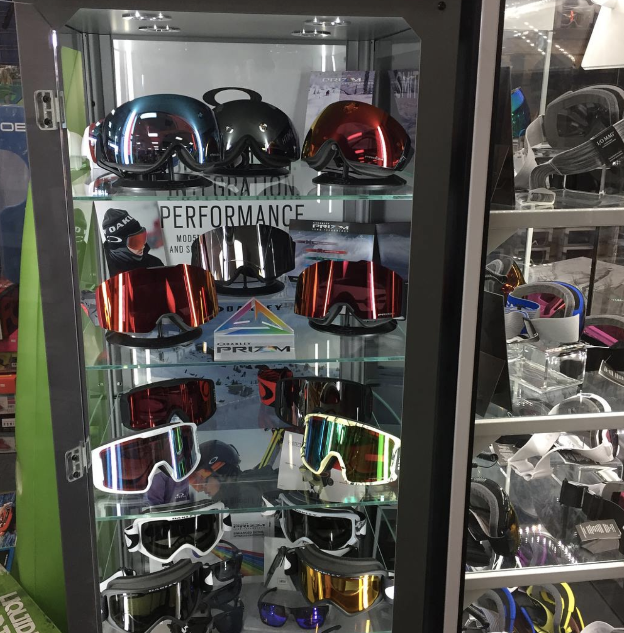 Performance snow googles from Troy's Ski Lubbock