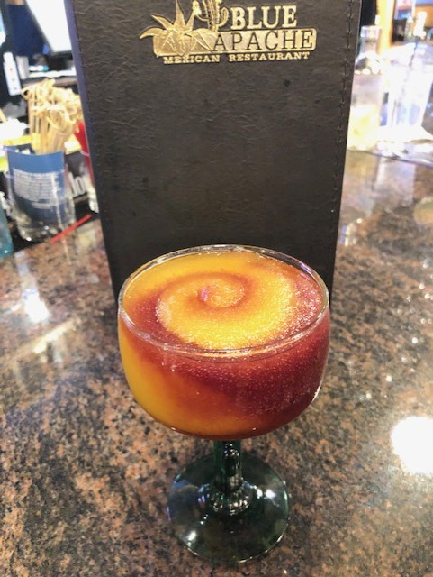 Mardi-Gras-Rita from Blue Apache Mexican Restaurant in Youngsville