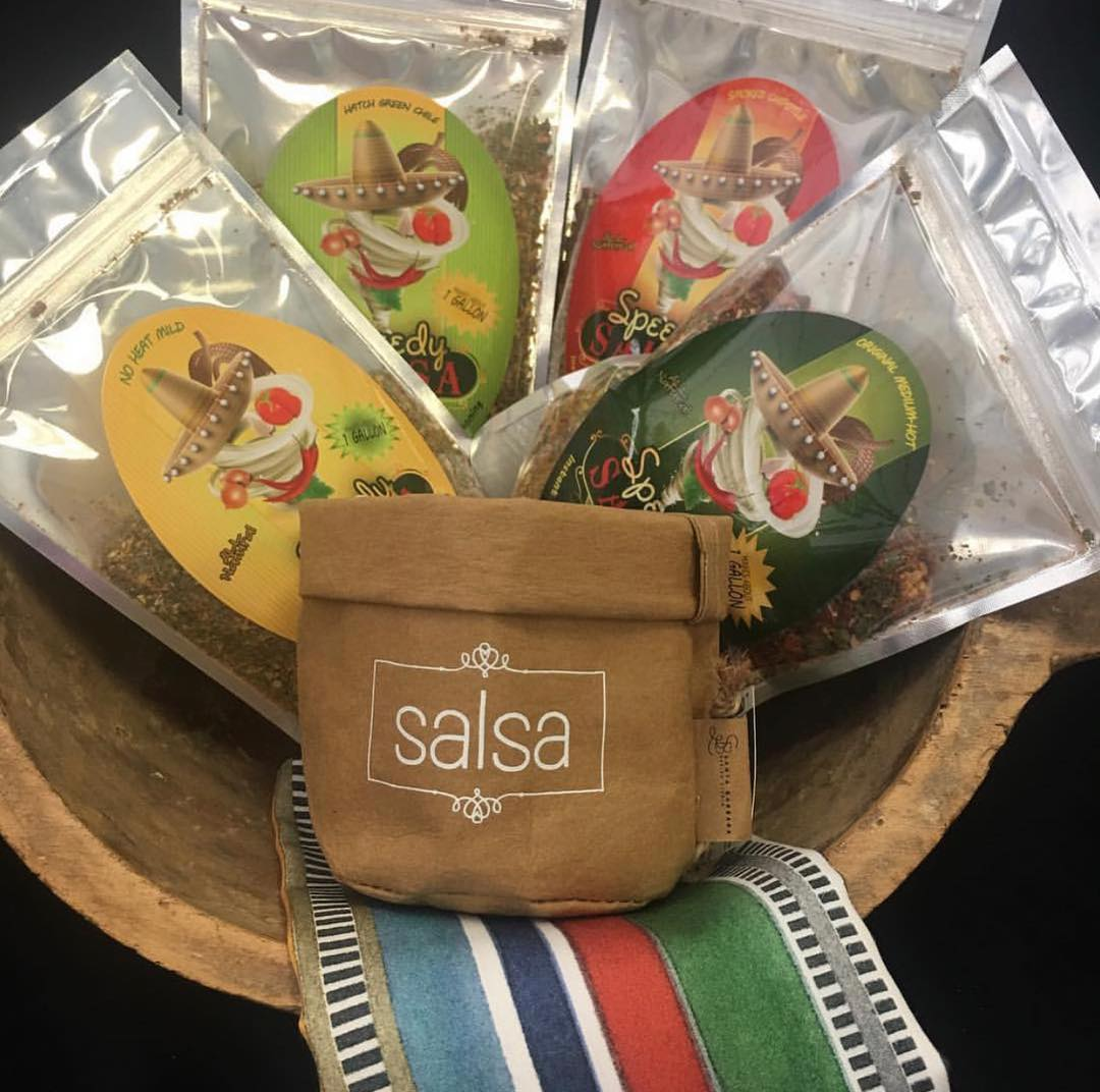 Salsa mix packets make great gifts