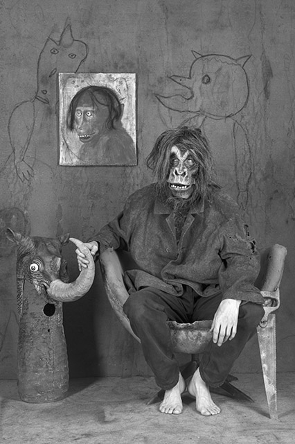 Roger Ballen 'Caught Out' 2017