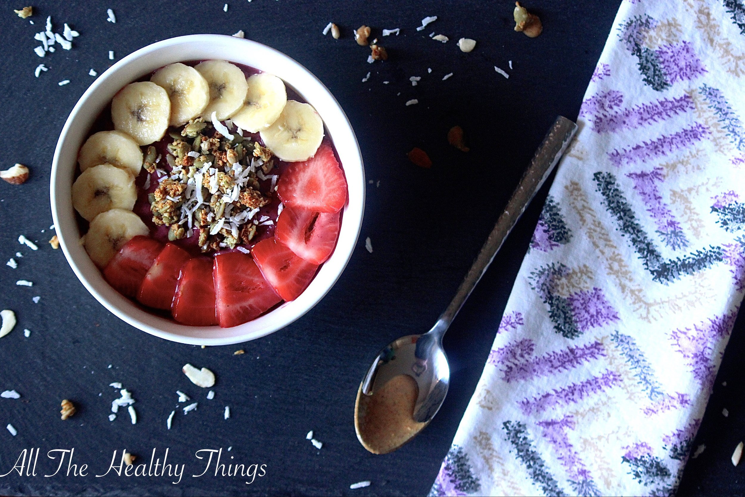 Mixed Berry Smoothie Bowls