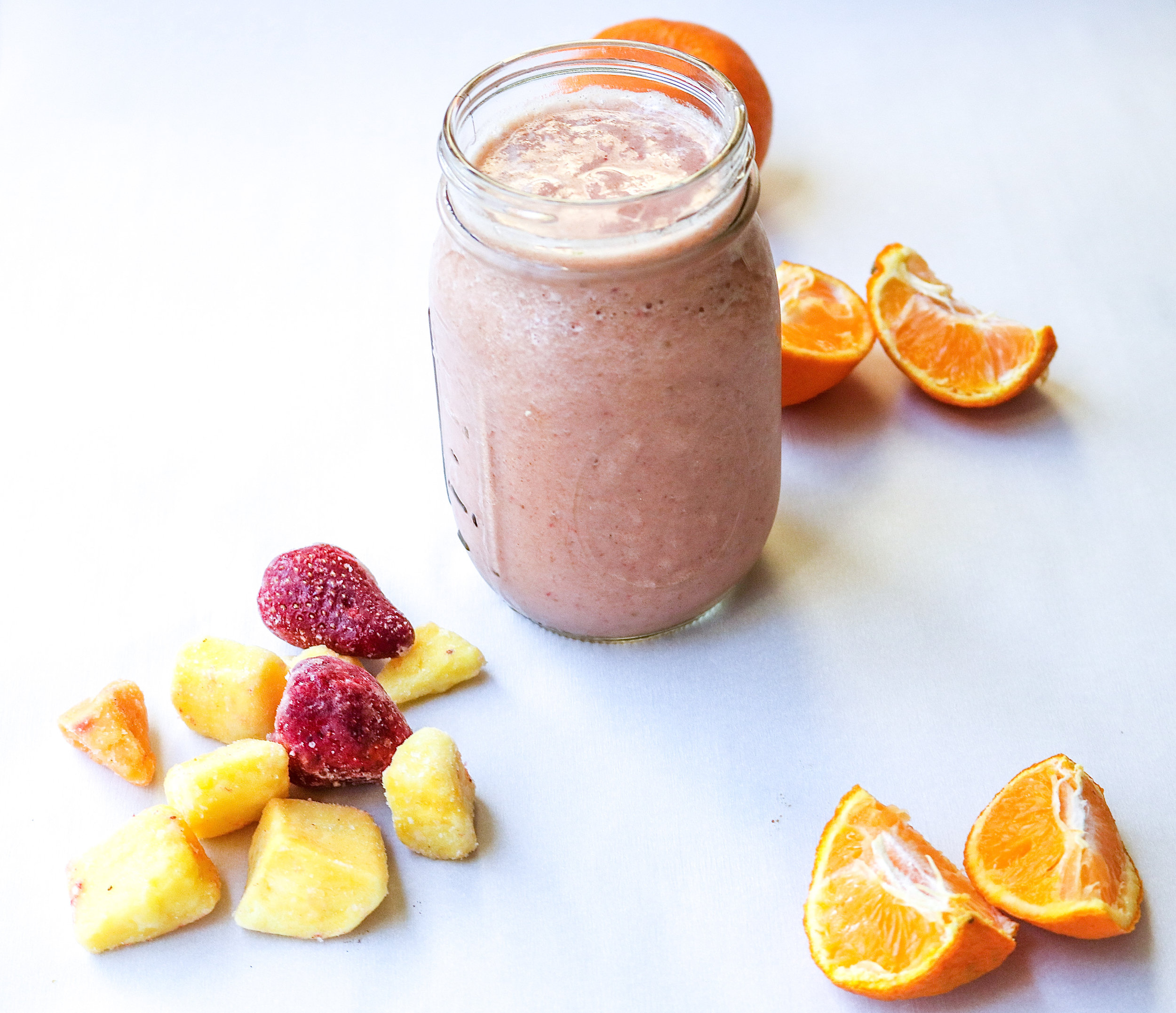 Tropical Protein Smoothie | All the Healthy Things