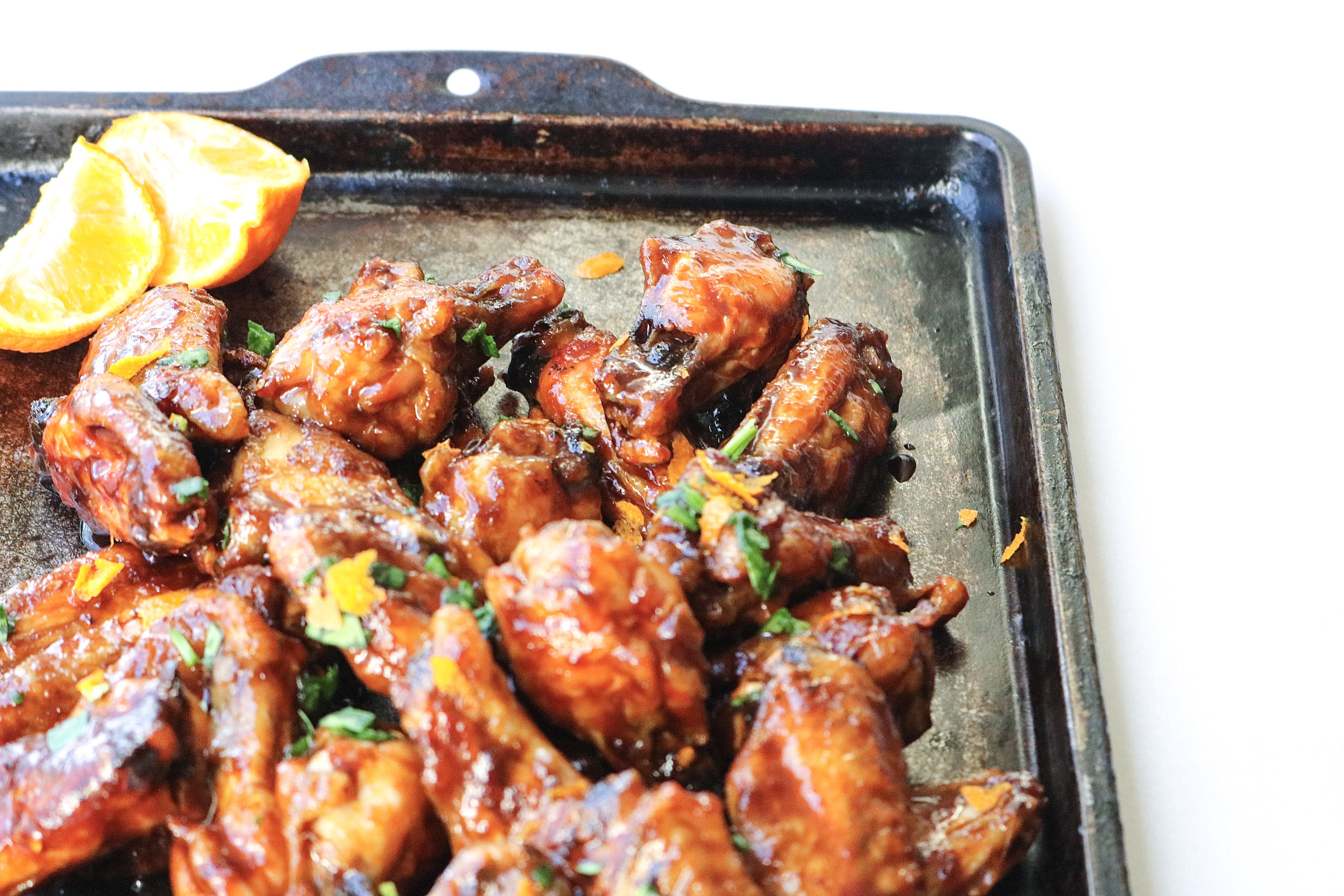 Sweet and Sticky Chicken Wings   All the Healthy Things