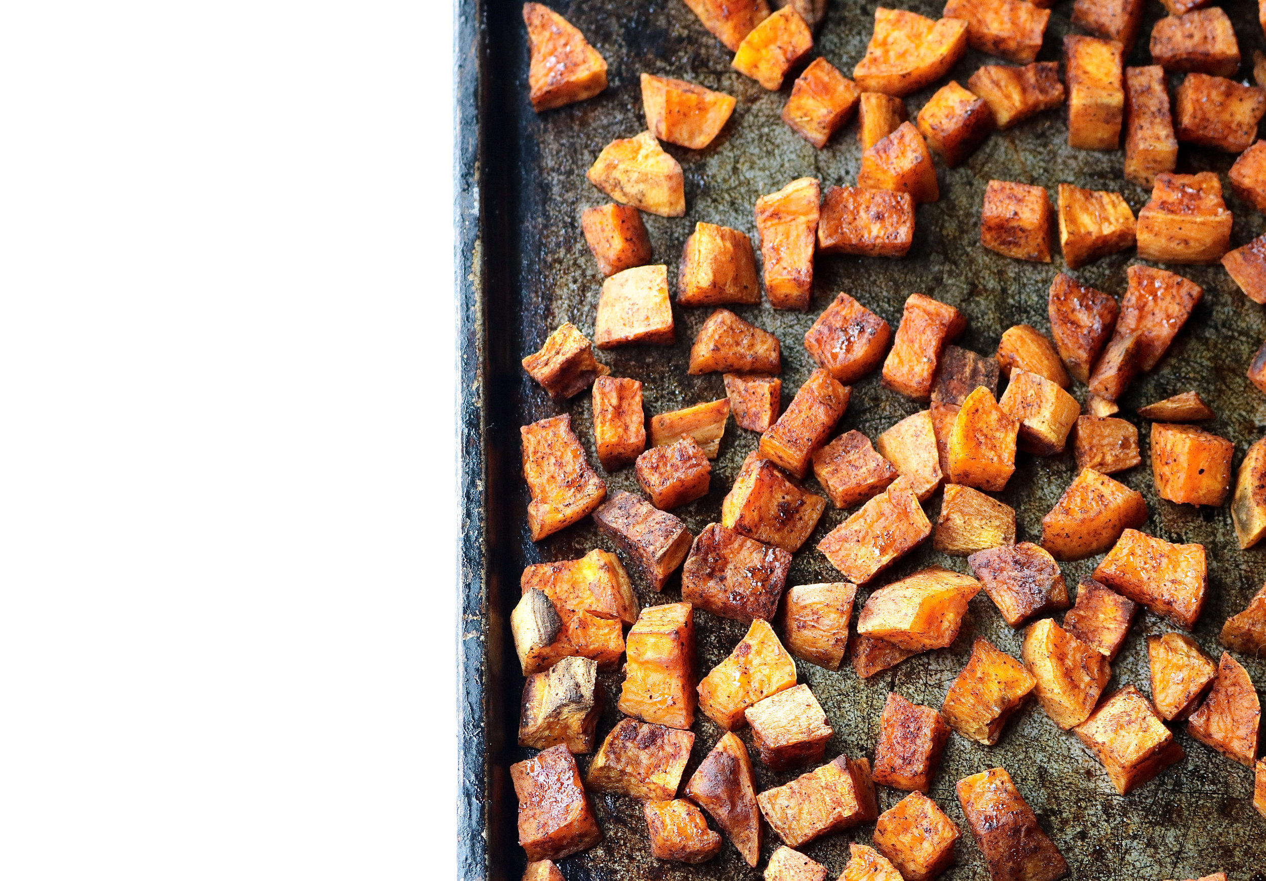 Perfect Roasted Sweet Potatoes | All the Healthy Things