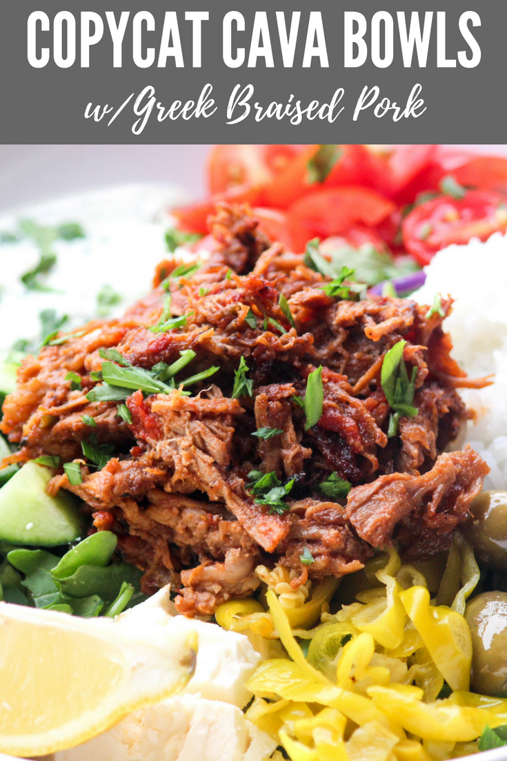 Copycat Cava Bowls with Braised Pork | All the Healthy Things.png