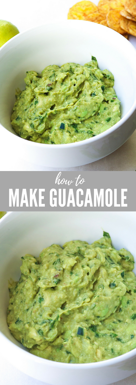 Easy Guacamole | All the Healthy Things