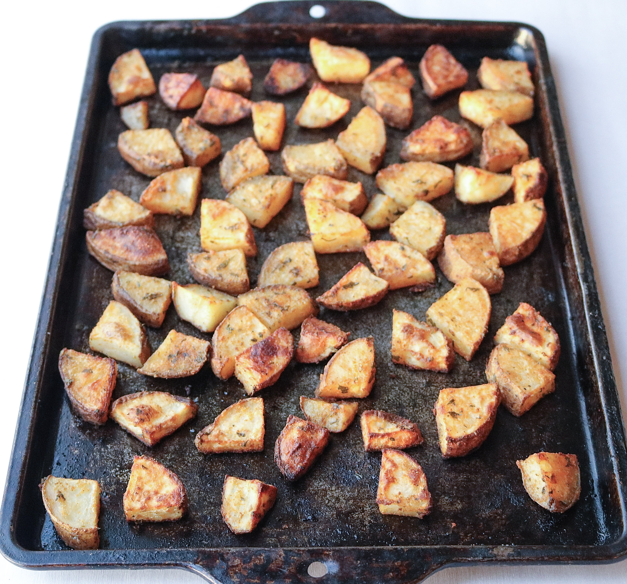 These breakfast potatoes are easy and delicious! They're sure to become a staple on your breakfast menu!