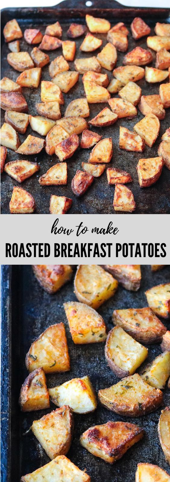 Whole30 Easy Roasted Breakfast Potatoes