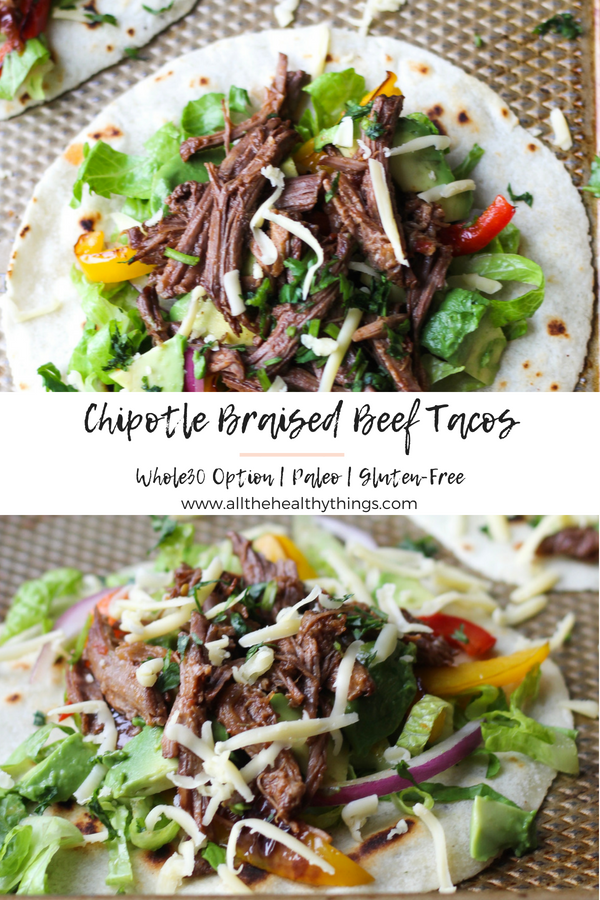 Chipotle Braised Beef Tacos