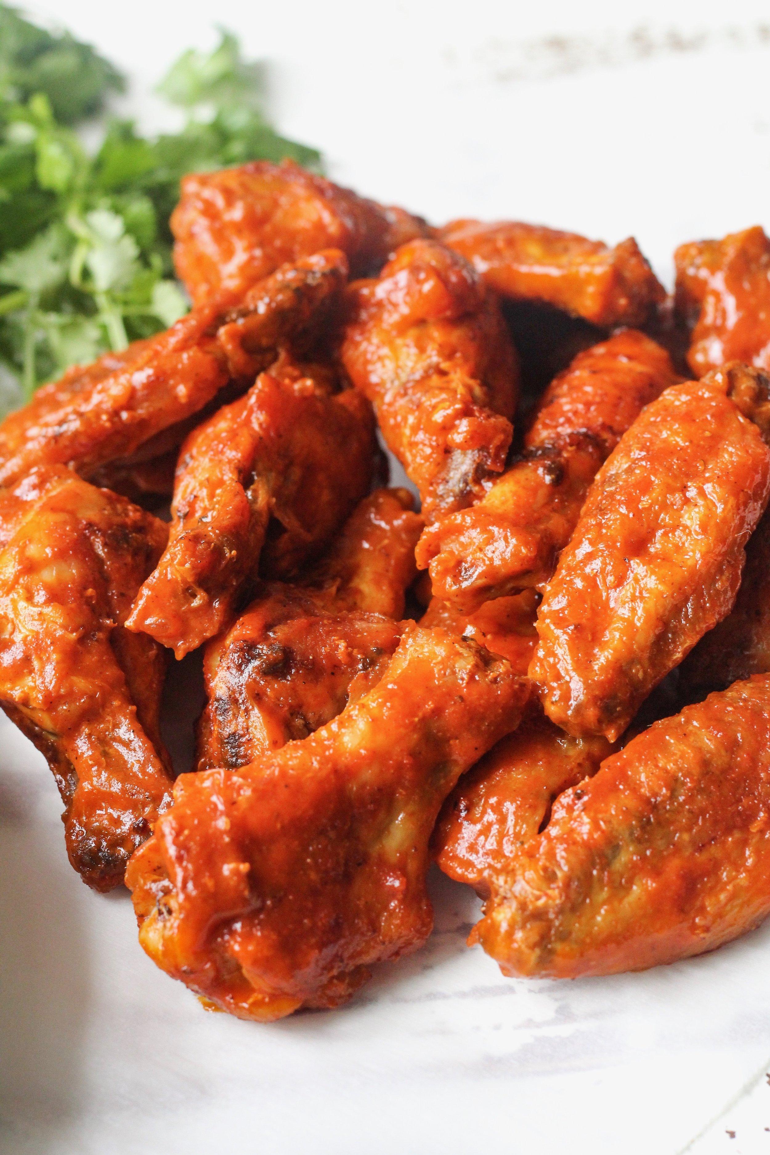 Whole30 Crispy Buffalo Chicken Wings