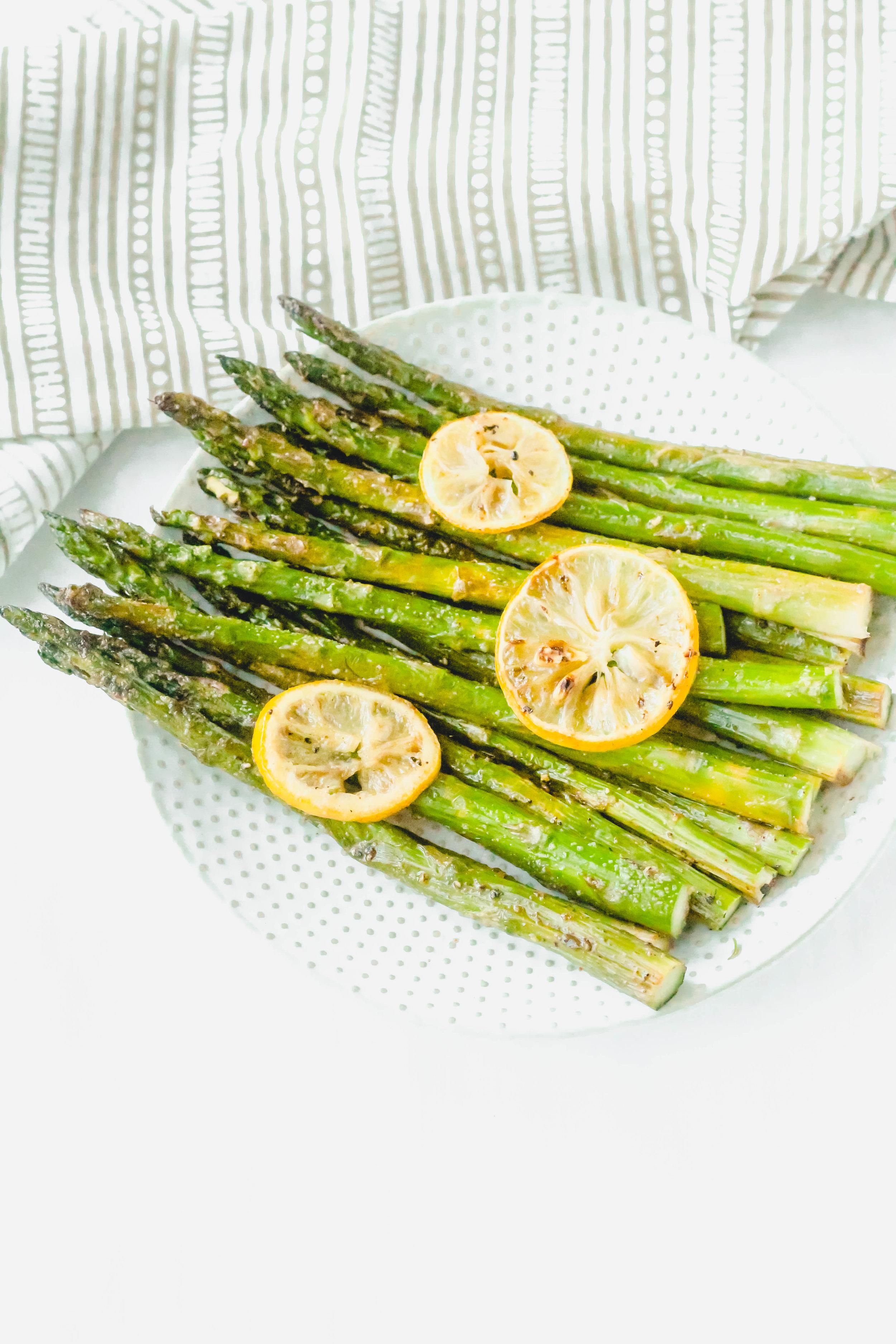 Lemon Roasted Asparagus