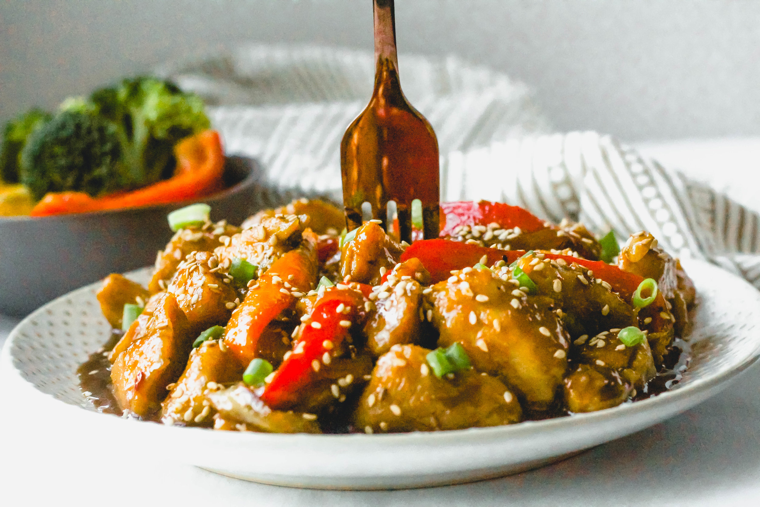 Whole30 Sweet and Sour Chicken