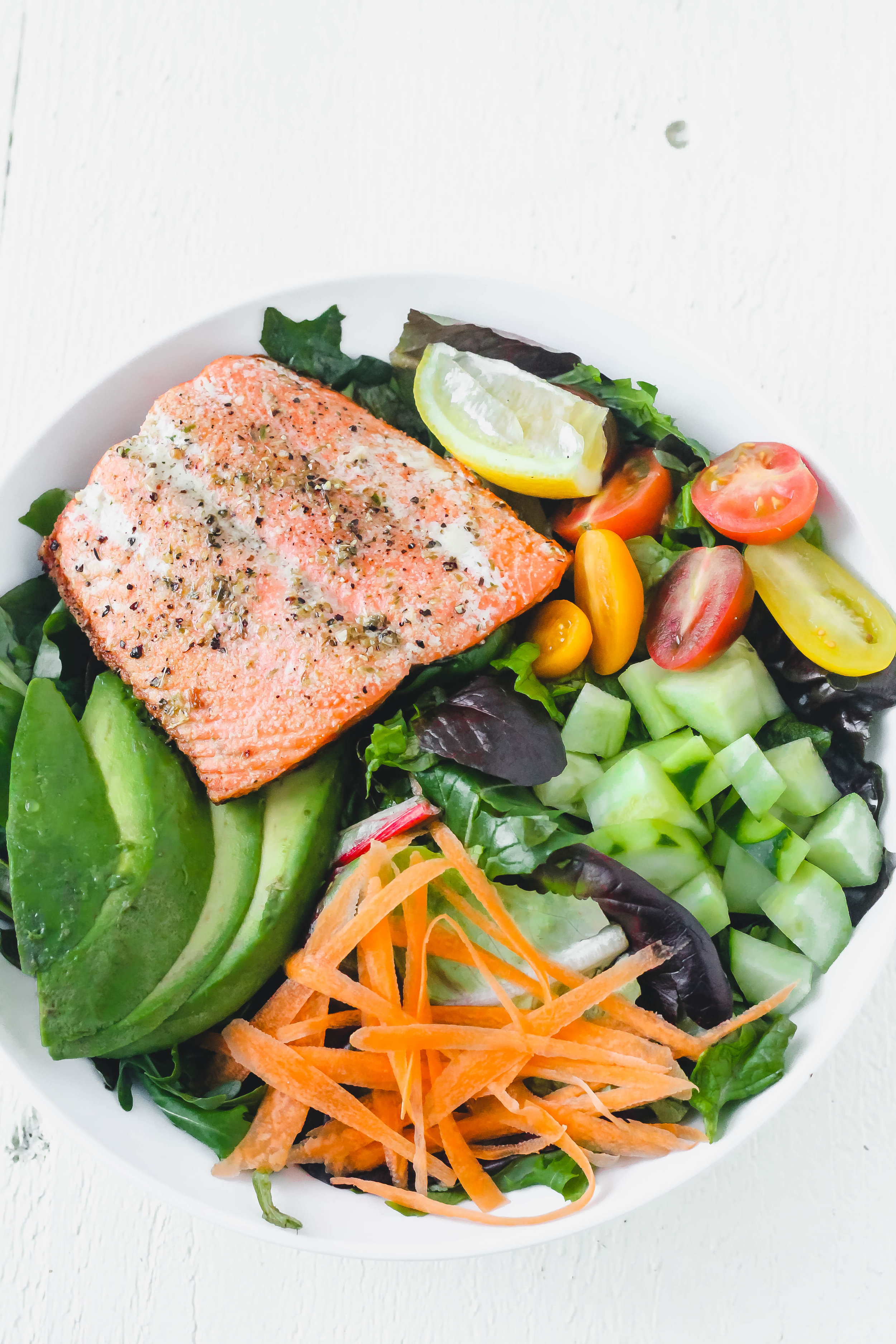 Ten Minute Crispy Salmon