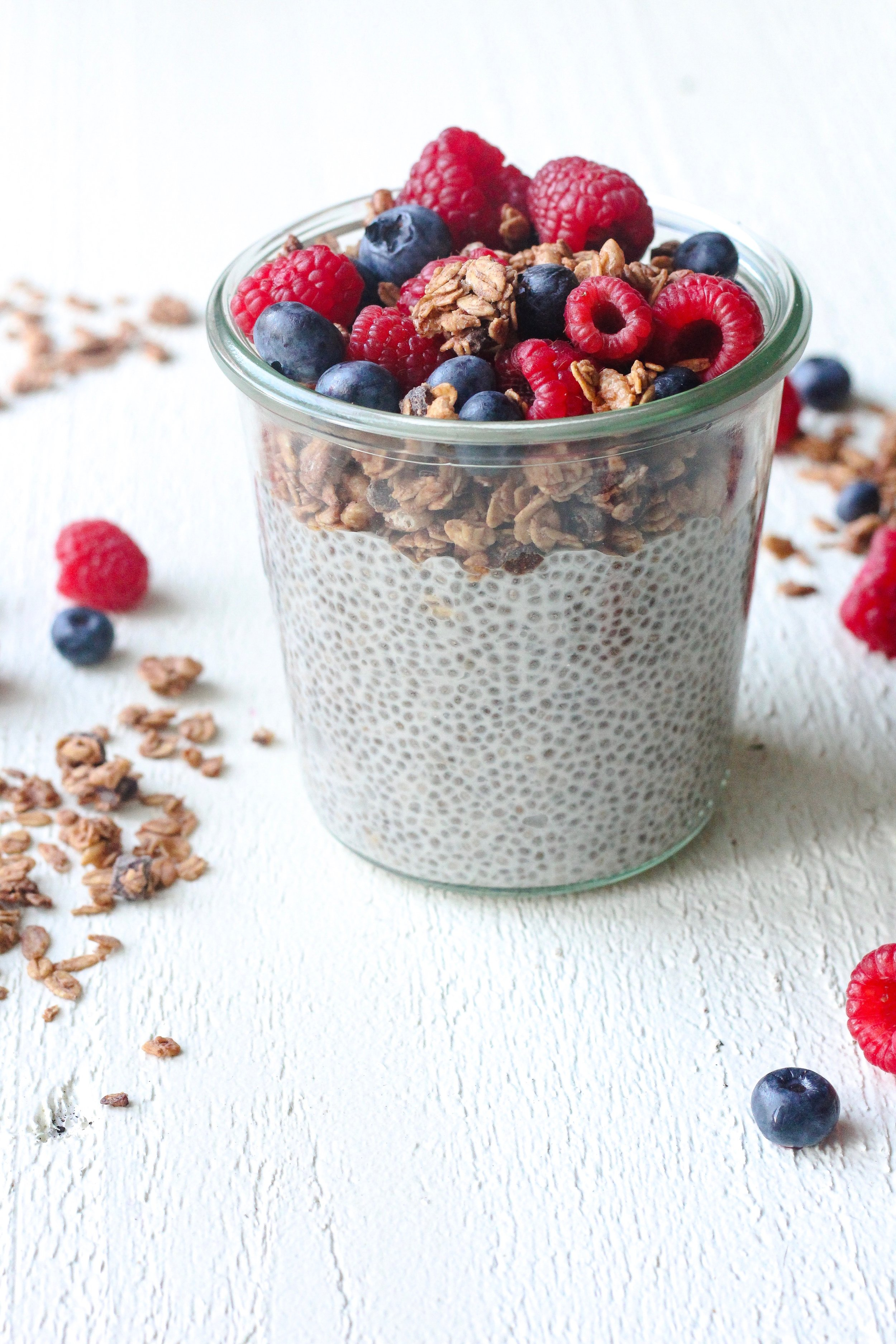 Five-Ingredient Chia Seed Pudding