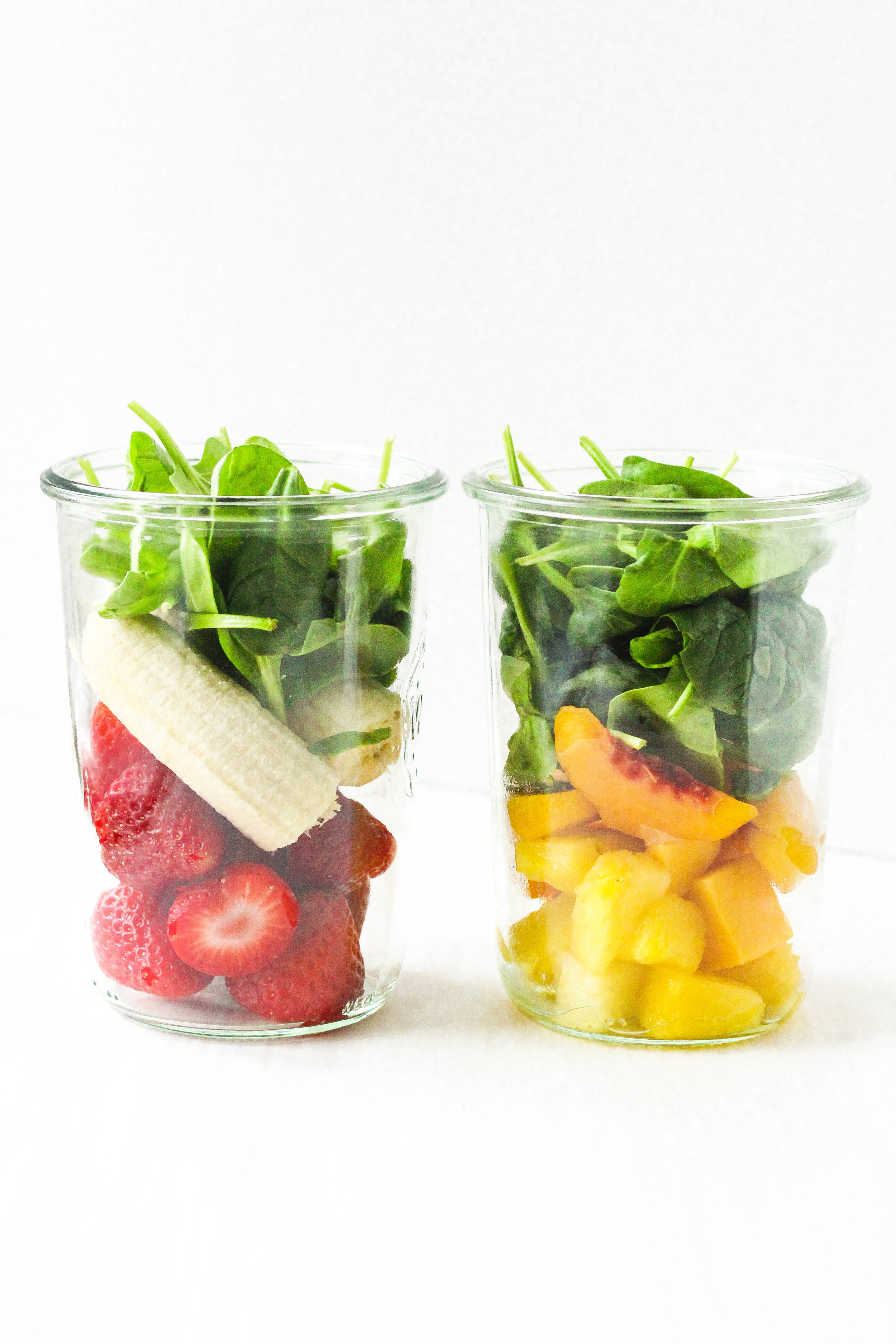 Pre-made Smoothie Jars