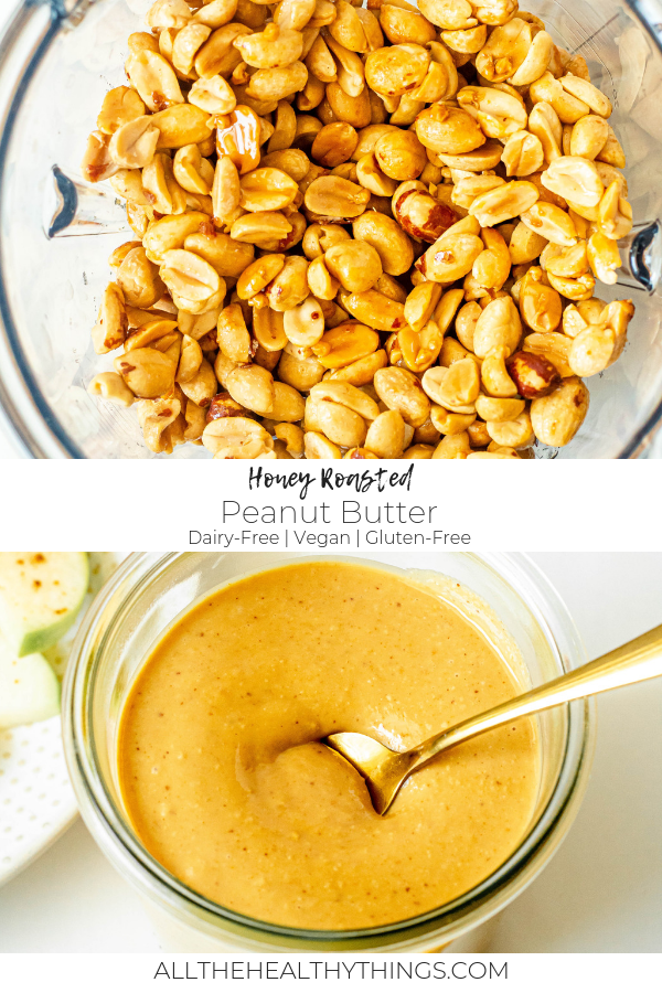 Honey Roasted Peanut Butter (Vegan, Gluten-Free)