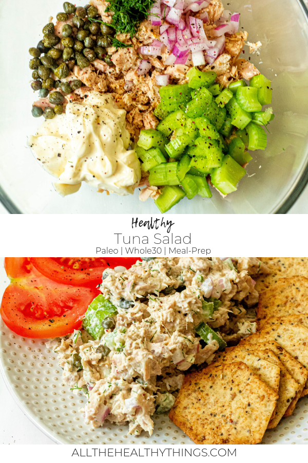 Healthy Tuna Salad (Paleo, Whole30, Gluten-Free)