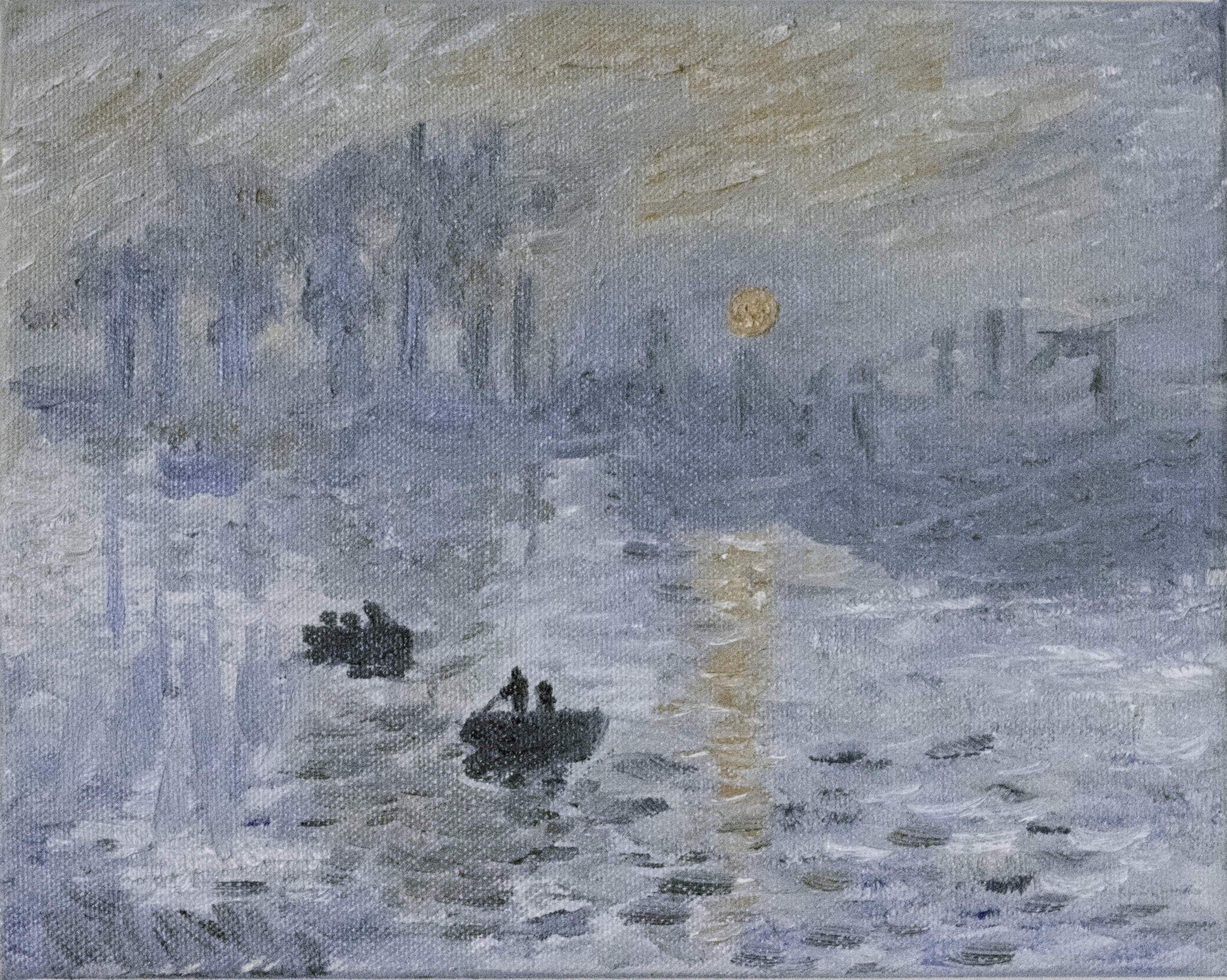 "Monet's ""Impression Sunrise"" copy"