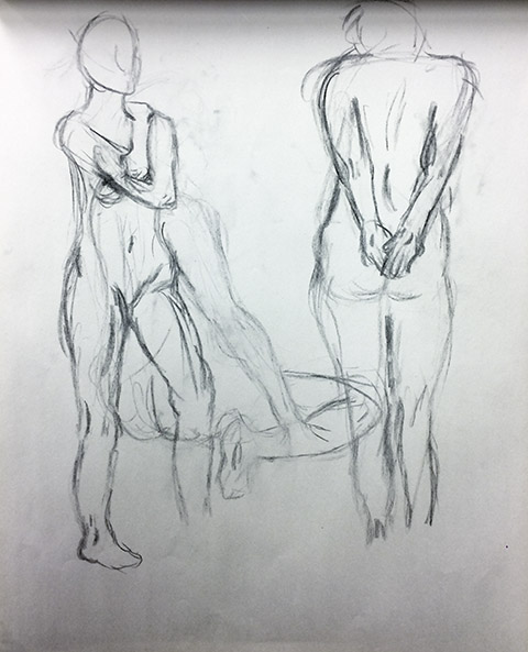 Female Model 1, Study 2