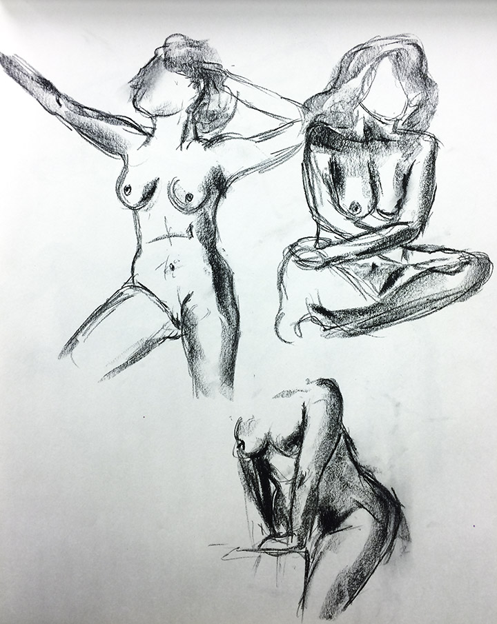 Female Model 2, Study 3