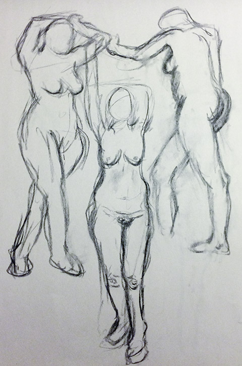 Female Model 1, Study 1