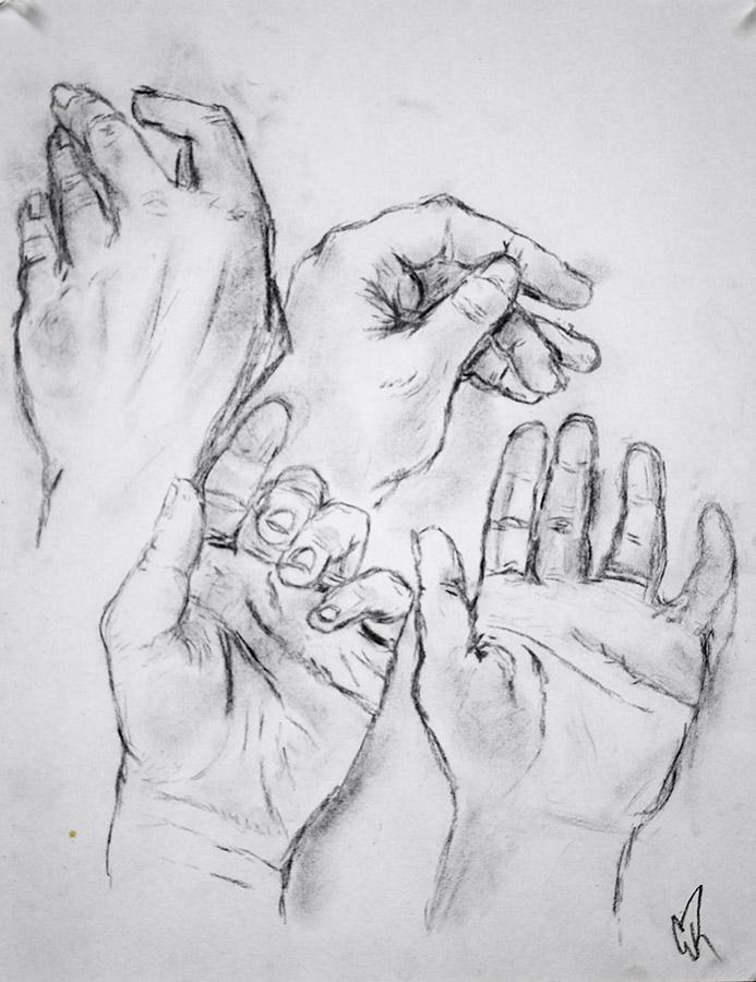 Hands Study 3