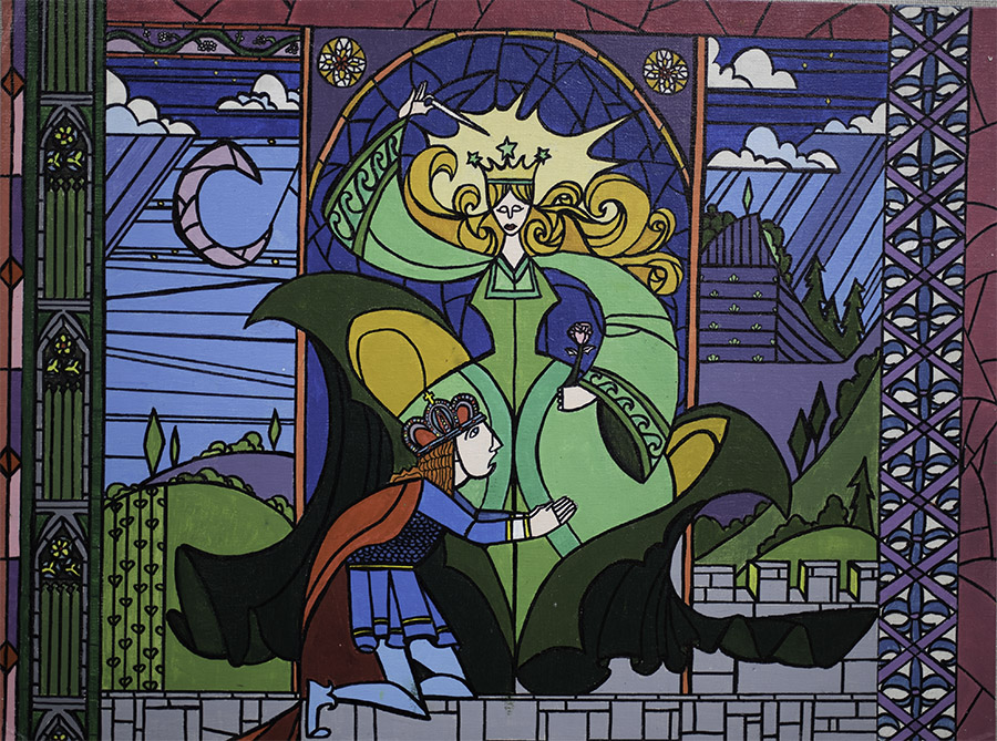 Disney's Beauty and the Beast, Stained Glass