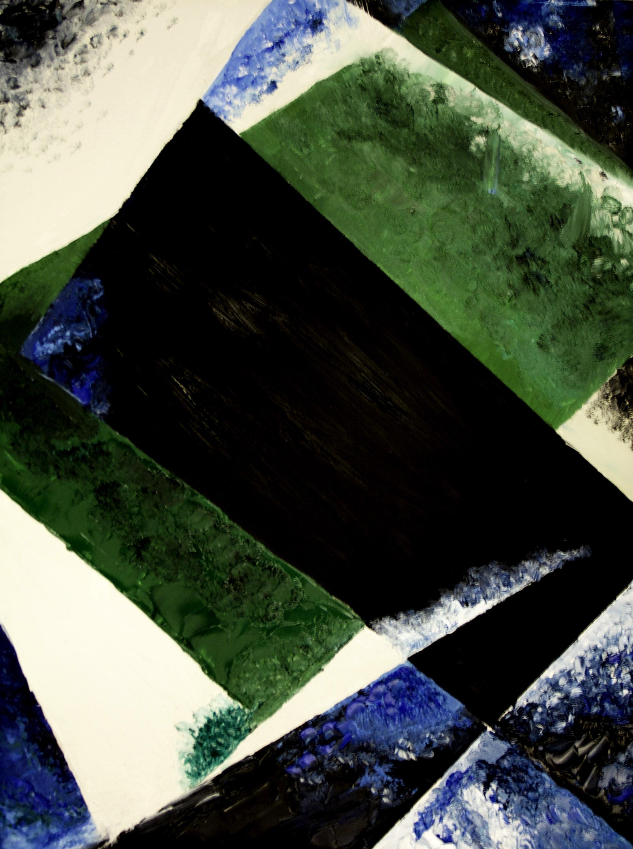 """Lyubov Popova's """"Painterly Architectonic"""" copy"""