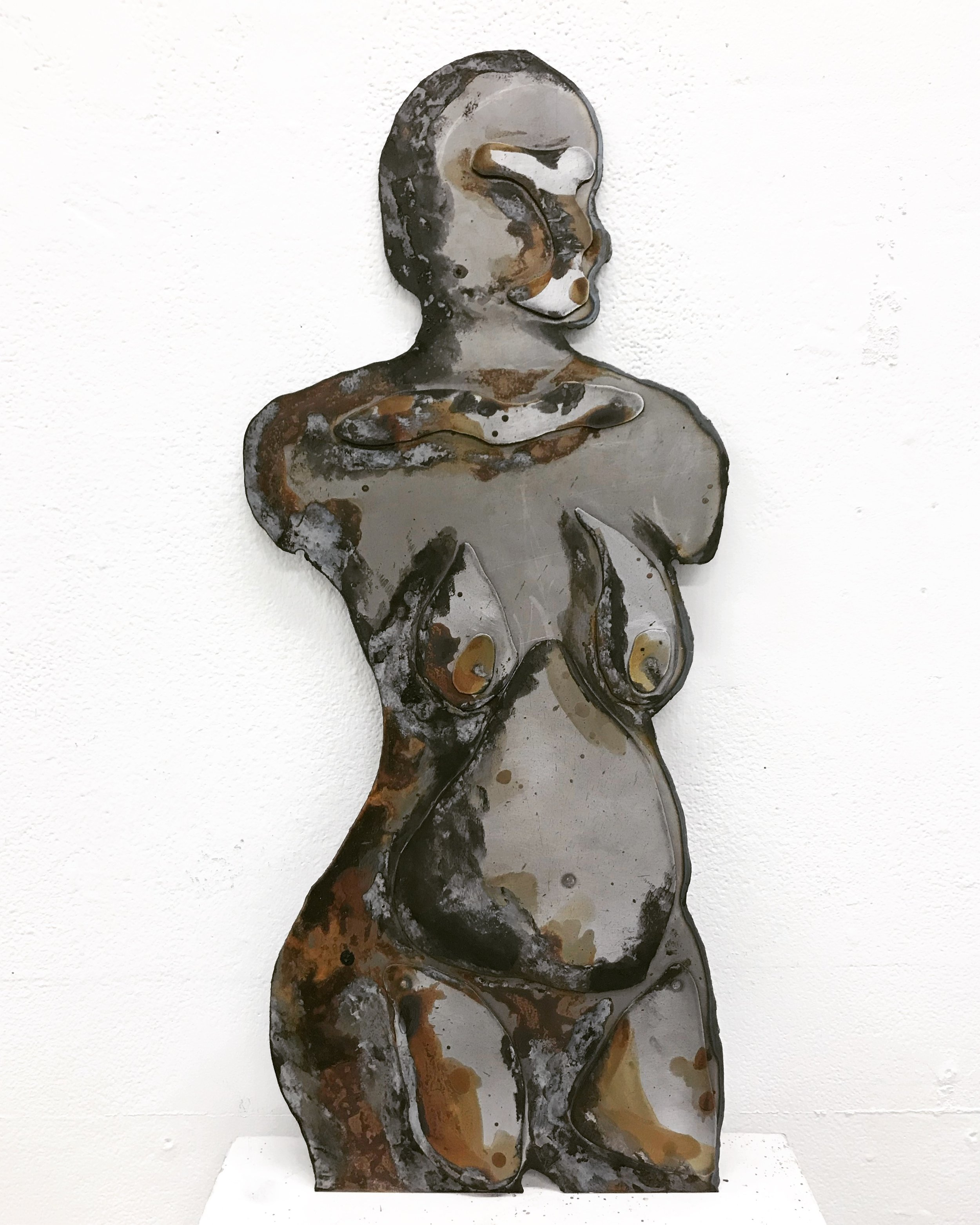 Surface Exploration of the Female Nude -