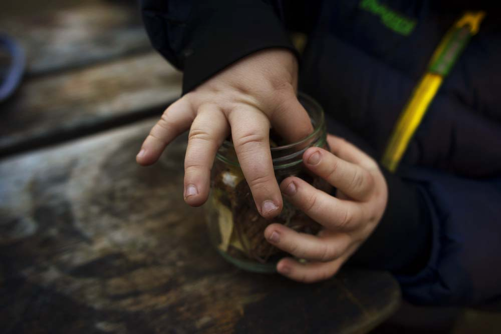 You can't mind getting your hands dirty when you are digging for gold!