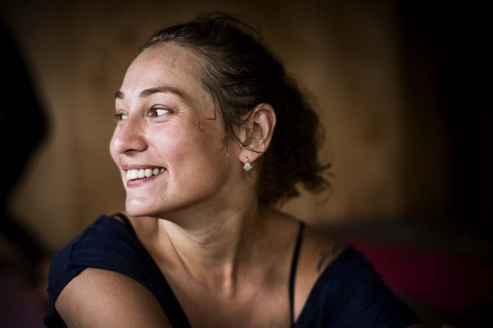 Yulia. Yoga coach, if you are Russian speaking check out her webpage: yogabalisha.ru