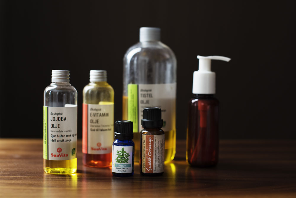 Ingredients for the Let's Go Slow Wild Weather Facial Oil