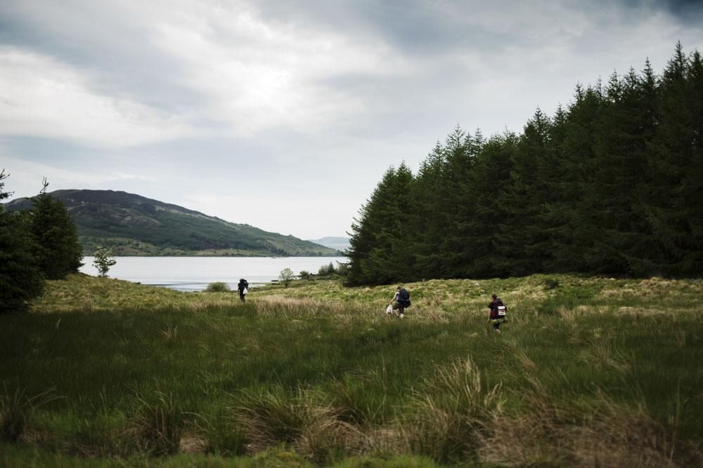 Loch Doon wild camp