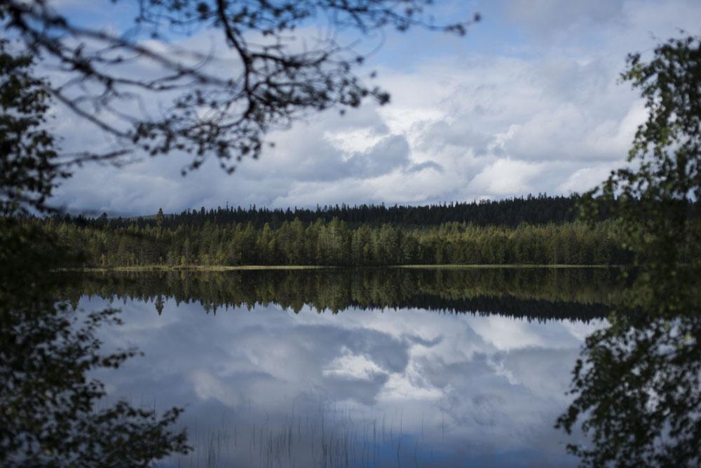 Lake view from the Sauna at Isokenkäisten Klubi