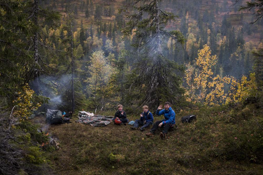 Coffee fire & picnic