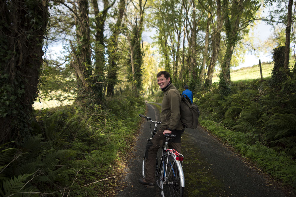 Cycling and laughing our way towards the Blueway