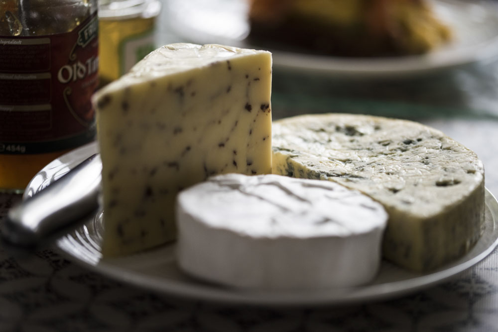 Cheese from our breakfast hamper