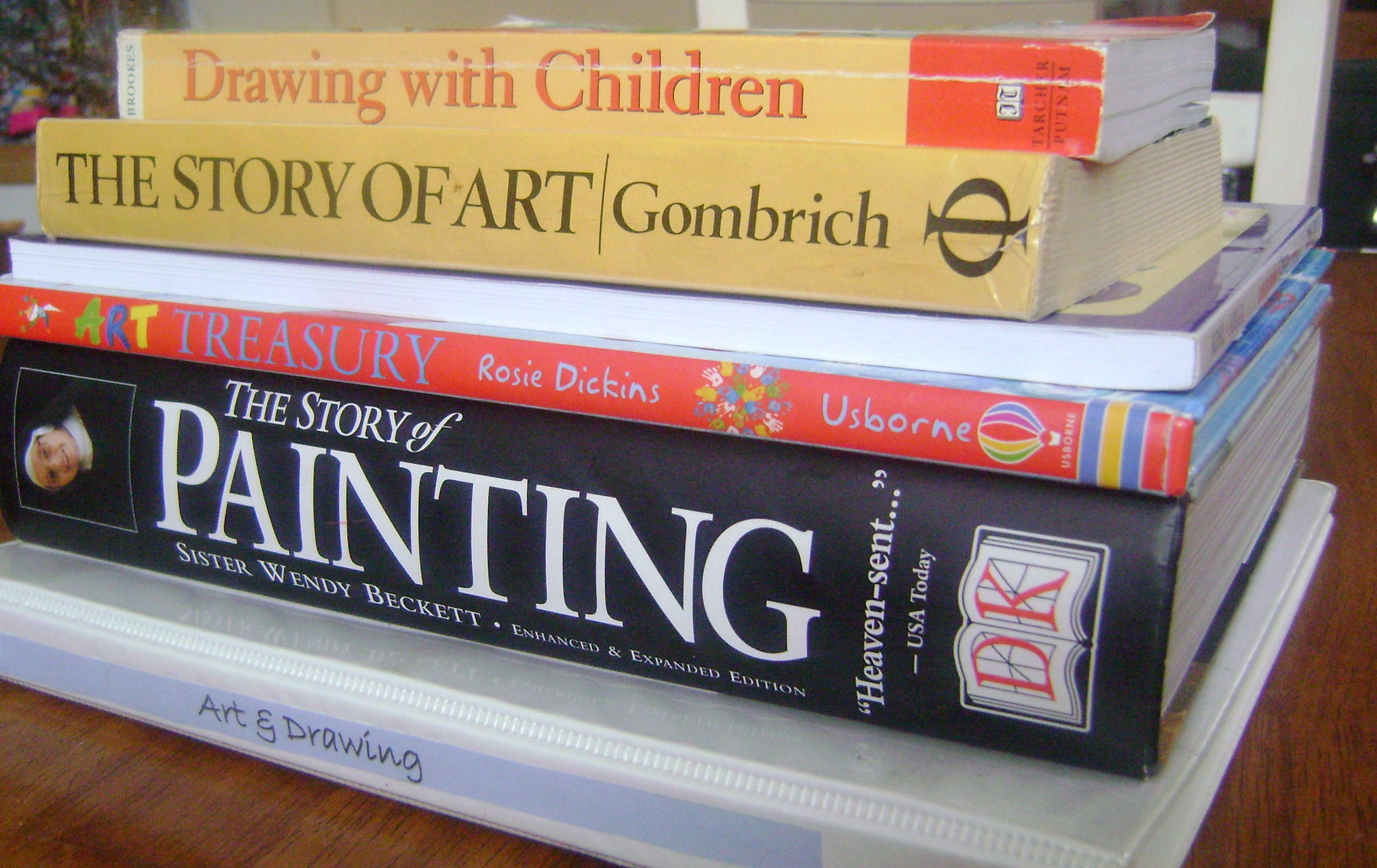 A collection of beautiful resources for studying artists and their artwork. Great list!