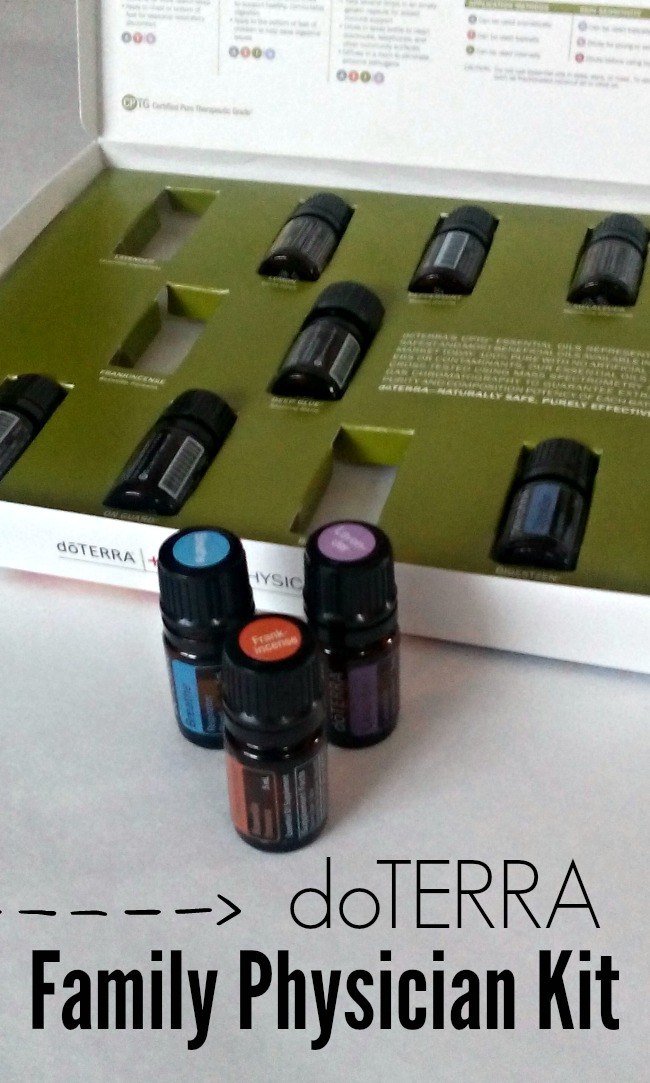 A look at the doTERRA Family Physician Kit - a great kit of 10 oils perfect for getting started with essential oils.