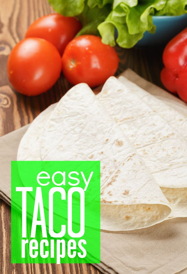 Love tacos? I have a fabulous collection of easy taco recipes. Keep some cooked taco meat packaged in your freezer and you can have these simple recipes on the table in just a few minutes.
